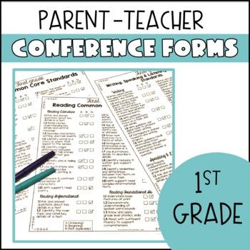 First Grade Parent Teacher Conferences