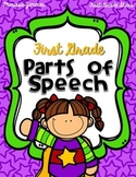 First Grade Parts of Speech Pack - Common Core Aligned