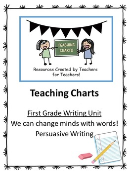 First Grade Persuasive Essay Writing Curriculum (Lucy Calkins Inspired)