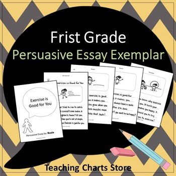 First Grade Persuasive Essay Writing Exemplar (Lucy Calkins Inspired)