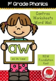 First Grade Phonics - 'AW' as in SAW
