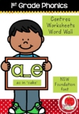 First Grade Phonics - 'A_E' as in CAKE