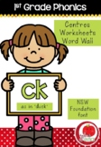 First Grade Phonics - 'CK' as in DUCK