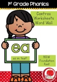 First Grade Phonics - 'EA' as in LEAF