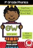 First Grade Phonics - 'EW' as in GREW