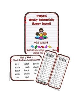 First Grade Phonics Fluency Lists