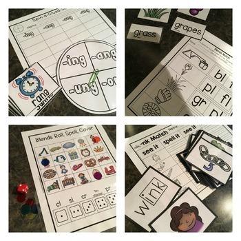 First Grade Phonics:  Level 1  Supplemental Pack BUNDLE