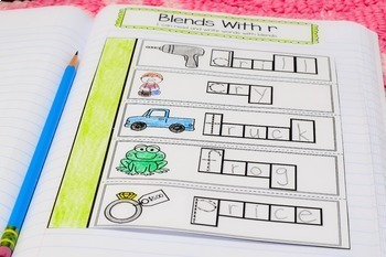 First Grade Phonics Interactive Notebook Distance Learning