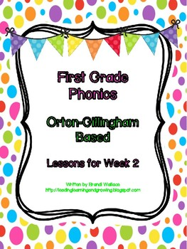 First Grade Phonics Lesson 2: Closed Syllables Encoding