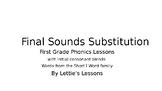 First Grade Phonics CVC w/ Initial Blends Final Sound Substitutions Short i Word
