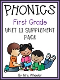 First Grade Phonics: Level 1, Unit 11