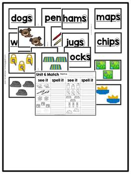 First Grade Phonics: Level 1, Unit 6