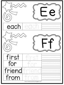 First Grade Phonics: Level 1 Word Book