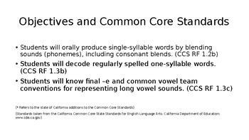 First Grade Phonics: Long e Vowel Set Spelled using Vowel Teams ee & ea