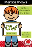 First Grade Phonics - 'OW' as in SNOW