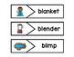 First Grade Phonics Picture Match:  L Blends Words