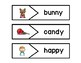 First Grade Phonics Picture Match:  Tricky Y (Long e and i sound)