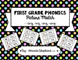 First Grade Phonics Picture Match:  -ng Words (-ang, -ing,