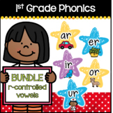 First Grade Phonics - R-Controlled Vowels BUNDLE