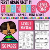 Level 1 Unit 14 First Grade Phonics Review