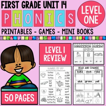 First Grade Phonics Review