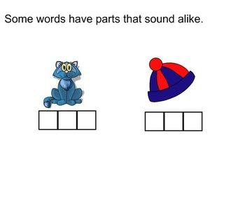 First Grade Phonics: Rhyming Words