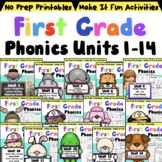 First Grade Phonics The Whole Year