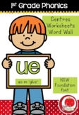 First Grade Phonics - 'UE' as in GLUE