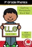 First Grade Phonics - 'U_E' as in CUBE