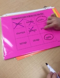 First Grade Phonics Unit 10 Tic Tac Toe Games