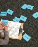 First Grade Phonics Unit 10 Unscramble the Sentences Liter