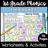 First Grade Phonics Unit 11 Long Vowel Words Magic e