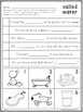 First Grade Phonics Unit 14, Trick words and Review Word Structures