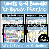 First Grade Phonics - Units 6-9 Bundle