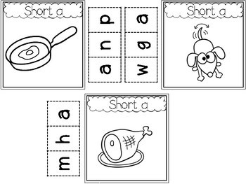 Phonics Intervention for Interactive Notebooks (Short Vowel Edition)