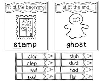 Phonics Intervention for Interactive Notebooks-Short Vowels, Blends, and Digraph