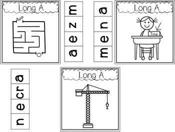 Phonics Intervention for Interactive Notebooks-CVCE, digraphs, diphthongs + more