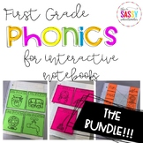 Phonics Intervention for Interactive Notebooks THE BUNDLE!