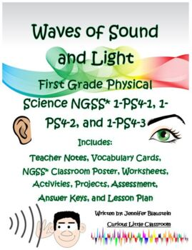 First Grade Physical Science- Waves of Light and Sound