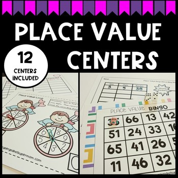 First Grade Place Value Centers