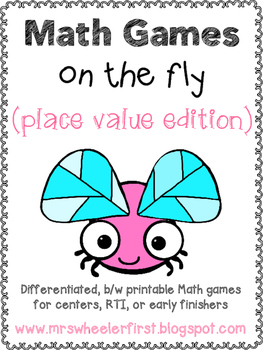 First Grade Place Value Math Games