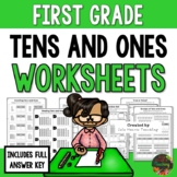 First Grade Place Value Tens and Ones Worksheets (First Grade Math Series)