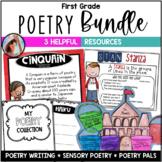 First Grade Poetry Bundle