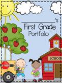 First Grade Portfolio and Memory Book