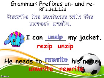 First Grade Powerpoints Example