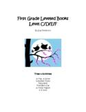 First Grade Pre-Primer Leveled Books: Level C - Set 2