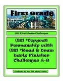 Print Penmanship Writing Fluency Challenges 1st Grade