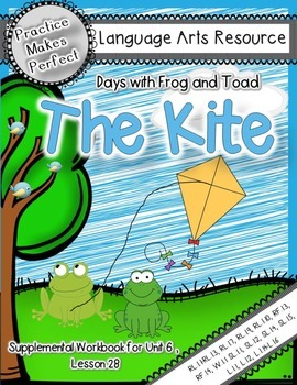 Journeys  1st Grade Days with Frog and Toad /The Kite