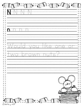 Printing Practice A-Z- Print and Go- No Prep-First Grade-Common Core Aligned
