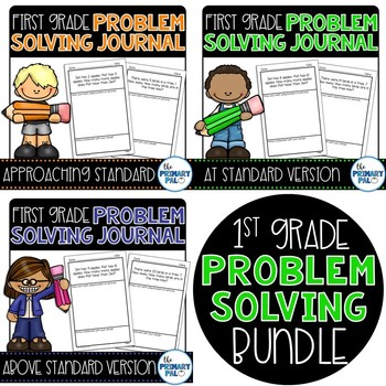Common Core Problem Solving Bundle for First Grade